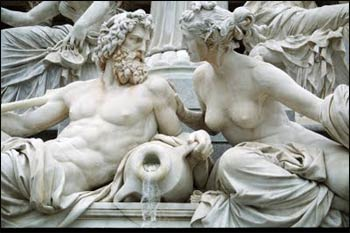 The sacred marriage of Zeus and Hera