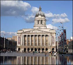Nottingham Council House – Photo: Wikipedia