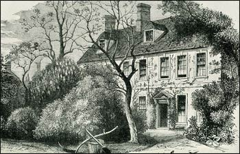 "The vicarage in Olney where Newton wrote the hymn ""Amazing Grace"" – Graphic: Wikipedia"