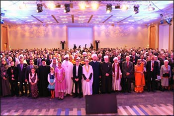 Every five or six years, Religions for Peace convenes a World Assembly of senior-most religious leaders for the purpose of forging a deep moral consensus on contemporary challenges, electing a new World Council, and advancing multi-religious action across and beyond the Religions for Peace network. Photo: RFP