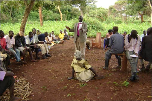 URI's Acholi Religious Leaders Peace Initiative circle has developed mediation services in land disputes arising from the 20-year civil war in northern Uganda.