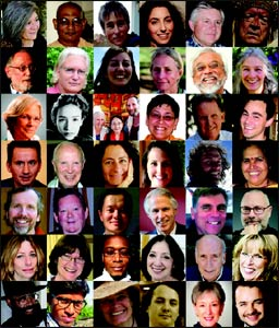Presenters at the Dawn of Interspirituality conference.