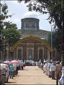 St. George's Orthodox Cathedral in Addis Ababa. – Photo: Wikipedia