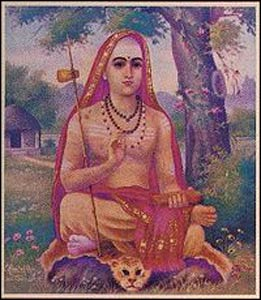 Adi Shankara, an early proponent of Vedanta – Graphic: Wikipedia