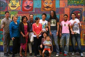 Family Acceptance Project participants. - Photo: FAP
