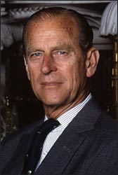 Prince Philip, Duke of Edinburgh Photo: Wikipedia