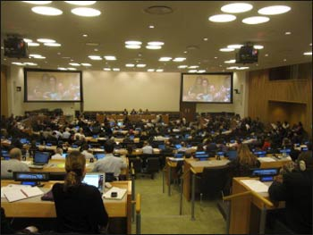 Open Working Group (OWG) meeting about sustainable global development.