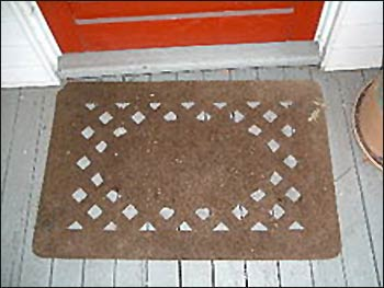 A welcome mat. Photo: Wikipedia