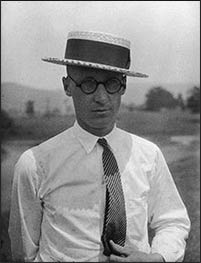 The first legal tussle between science and religion in the U.S. revolved around John Scopes, a high school teacher who was convicted of teaching evolution in 1925, though the penalty (a fine) was waived due to a technicality. Photo: Wikipedia