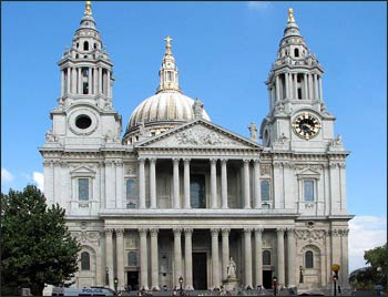 St. Paul's Cathedral, London Photo: Wikipedia