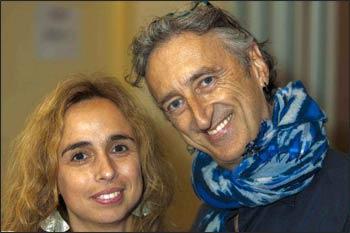 Zaya and Maurizio Benazzo Photo: Hans Tibben
