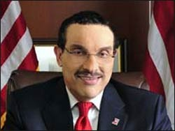 Washington D.C. Mayor Vincent Gray