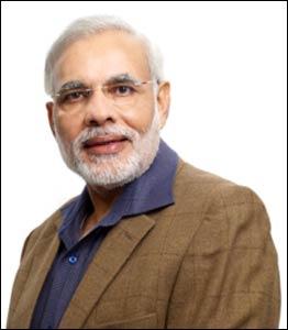 Shri Narendra Modi, 15th Prime Minister of India – Photo: Wikipedia