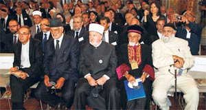 Jewish and Muslim leaders meet in Paris. Photo: Reuters