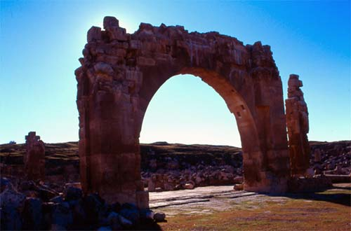 The city of Haran, in southeastern Turkey, goes back 4400 years. On the edge of the Silk Route, it has been home to multiple faith traditions, often living next door to each other. According to biblical tradition, Abraham grew up here. The photo shows the ruins of Islam's first university, which had an interfaith faculty. PHOTO: Don Frew