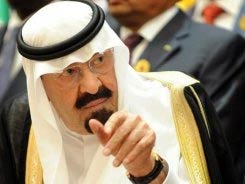 Saudi King Abdullah bin Abdulaziz at the UN last August.