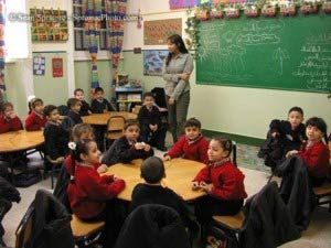 An Egyptan classroom. Photo: bikyamasr.com