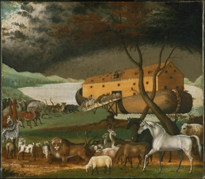 """Noah's Ark"" (1846) by Edward Hicks – Photo: Wikimedia"