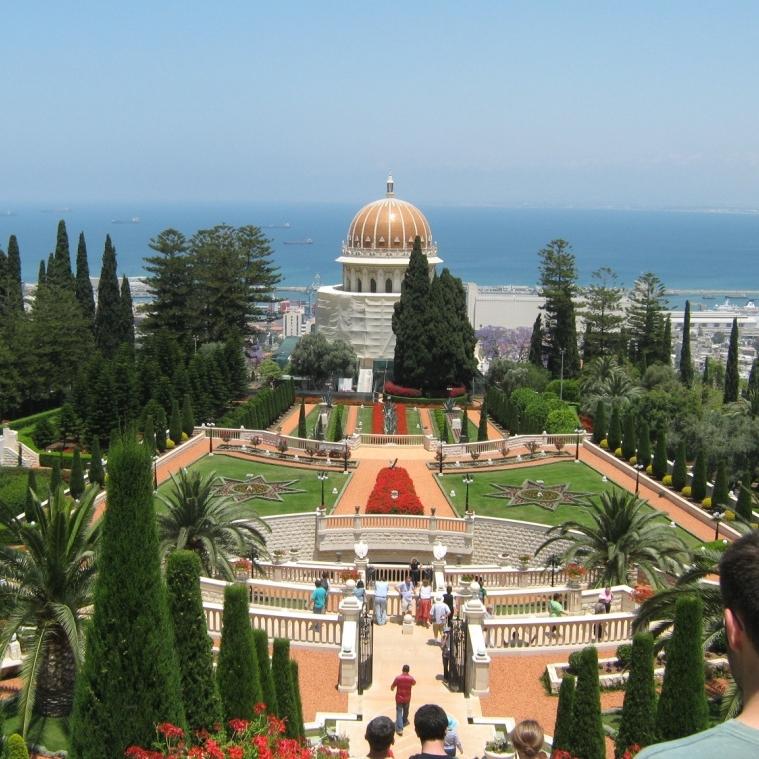Bahá'í Gardens in Haifa, Israel – Photo:  Neal Ungerleider, Cc.2.0
