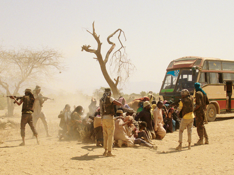 "A scene from the film ""Watu Wote"" – Photo: Hamburg Media School"