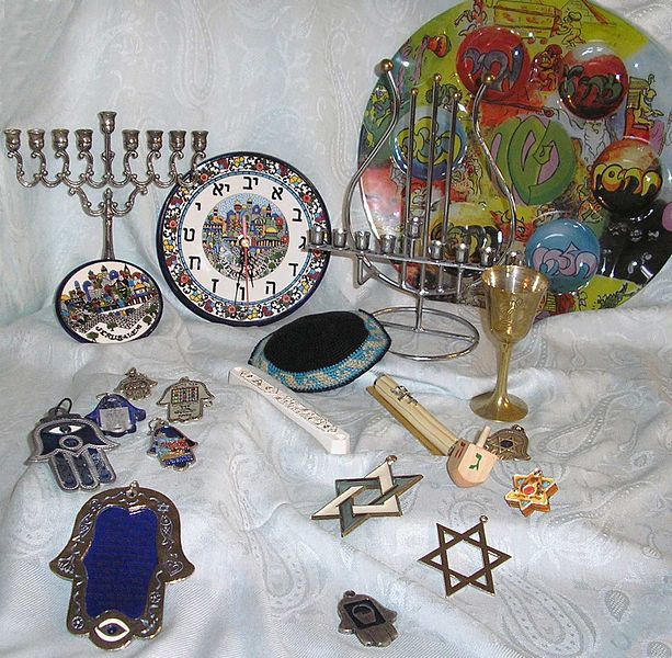 Judaica – Photo: Wikimedia, Vadim Akopyan, Cc. 3.0