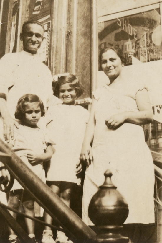The Miskjian family -  Stepan, Anahid (Dawn MacKeen's mother), Alice, and Stepan's wife, Arshaluys – Photo: Dawn MacKeen