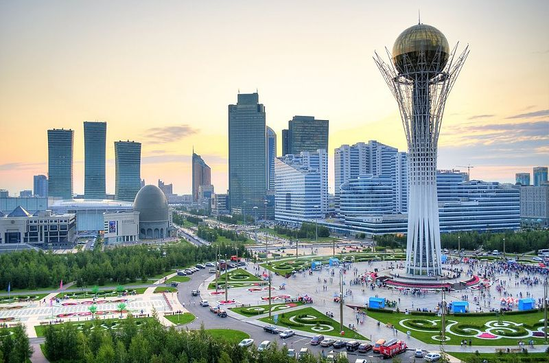 Astana, the capital of Kazakhstan – Photo:  Wikimedia, Askar 9992, Cc.4.0