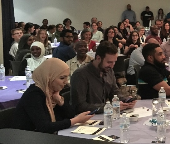 Interfaith iftar held at The Potter's House in Washington D.C. in June, 2016 - Photo:  Se7en Fast