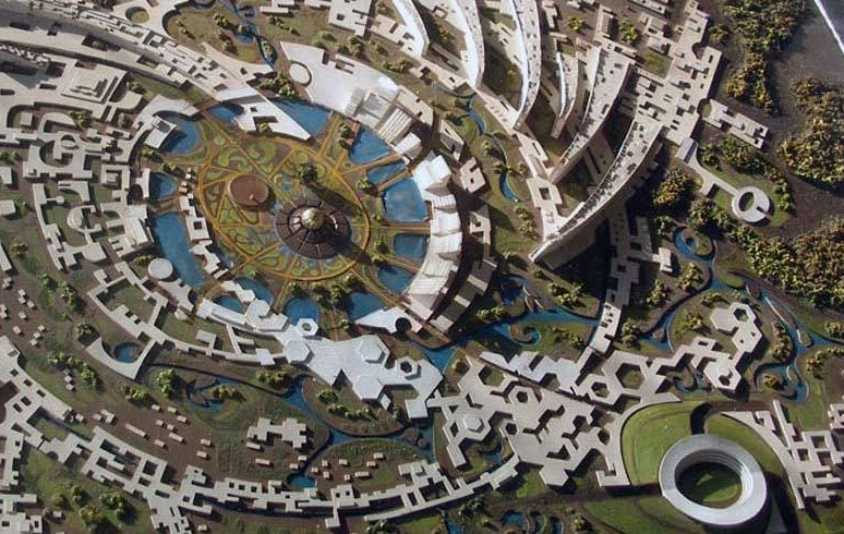 Arial view of Auroville – Photo: auroville.org