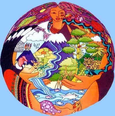 "The Andean Indigenous goddess Pachmama, ""Earth Mother"" – Photo: Photobucket"