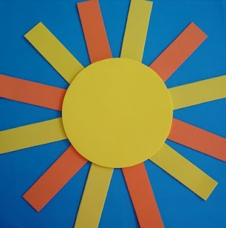 An easy sun craft for young kids – Photo: VG