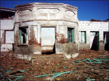 This holy Baha'i site in Babol, Iran, was destroyed in 2004.