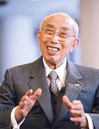 Rev. Nikkyo Niwano – Photo: Rissho Kosei Kai
