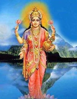 The Hindu goddess Prithvi or Mother Earth – Photo:  Pinterest