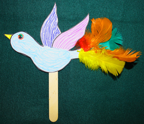 Sample craft done by our Lower Elementary class – Photo: VG