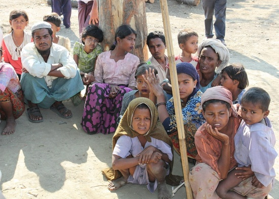 Rohingya refugees – Photo: Wikipedia, Foreign and Commonwealth Office