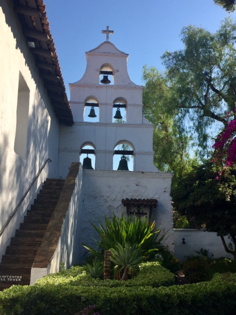 Mission San Diego de Alcalá was the first  Franciscan   mission  in  the Californias , then a province of  New Spain . – Photo: PC