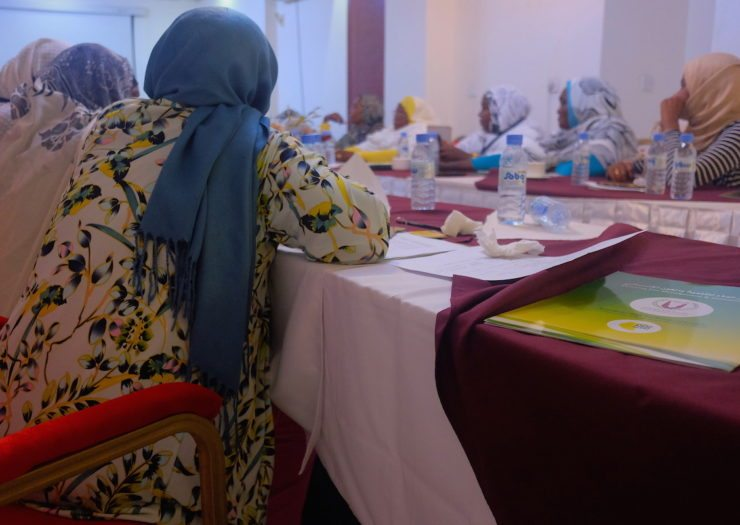 Though women in the troubled Sudanese region rarely have access to formal political power, the women exercise the power of media, maternity, and mediation to resolve conflicts in their communities – Photo: KZ