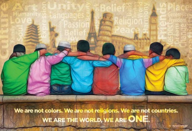 "Photo: ""We Are One"" by Jignasa Jadwani,  Embracing Our Differences"