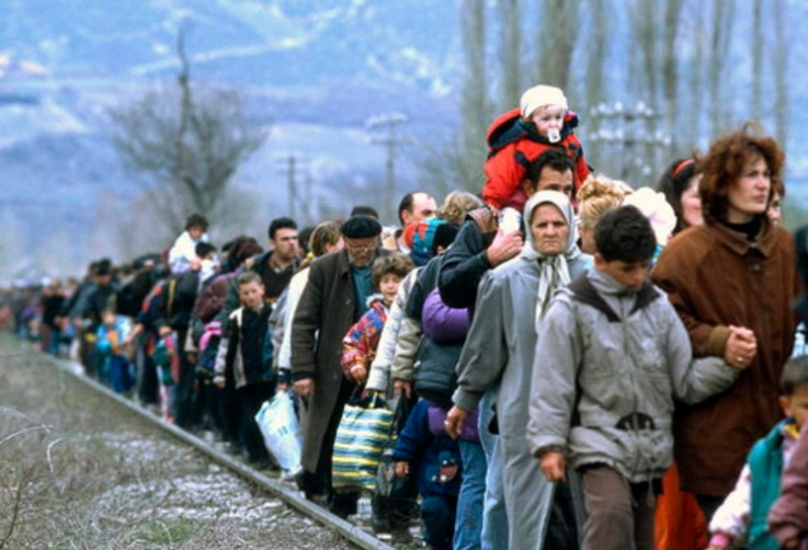 Kosovo refugees – Photo:    United Nations, C.c. 2.0 nc nd
