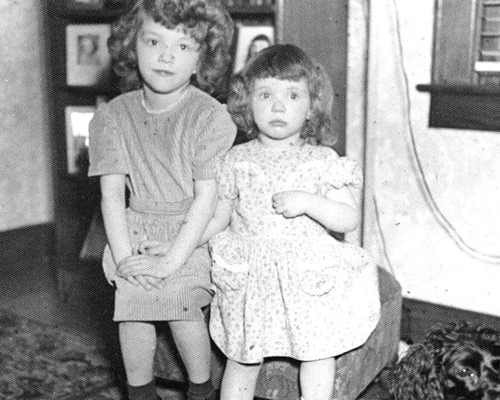 Martha Perkins, with her sister Nancy on the left – Photo: NMC