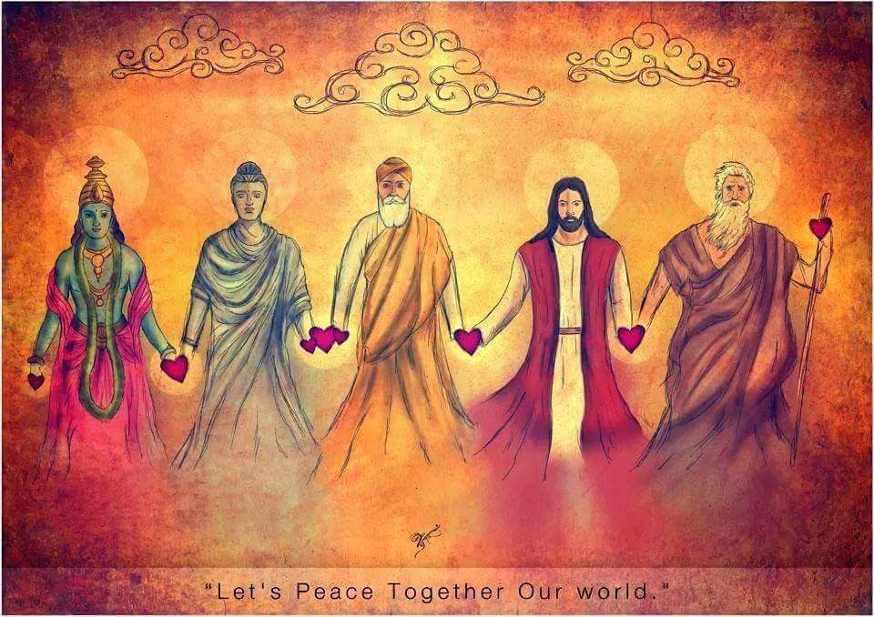 """Lets 'Peace' Together Our world""   by Vik Kainth"