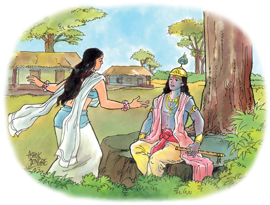 Photo:    Ashok Dongre found in  Stories for Children from Mahabharata  by Dr. C.S. Shah
