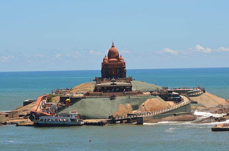 Vivekananda's rock – Photo:    Wikimedia