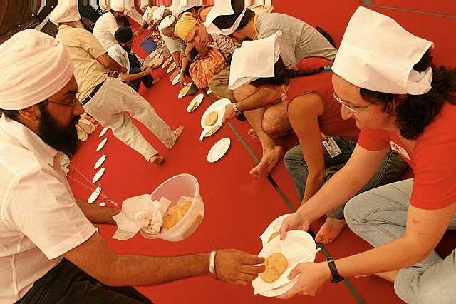 Sikh langar – Photo: RBS