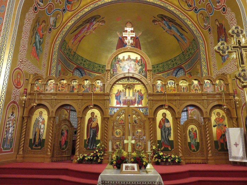 Interfaith Explorations visit to St. George Ukrainian Catholic Church – Photo:    EICEA