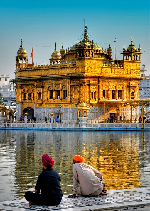 Golden Temple at Amritsar – Photo:    Pixabay