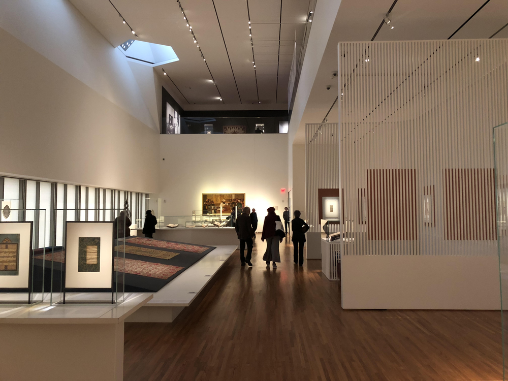Aga Kahn Museum exhibit & skylight – Photo: MRM