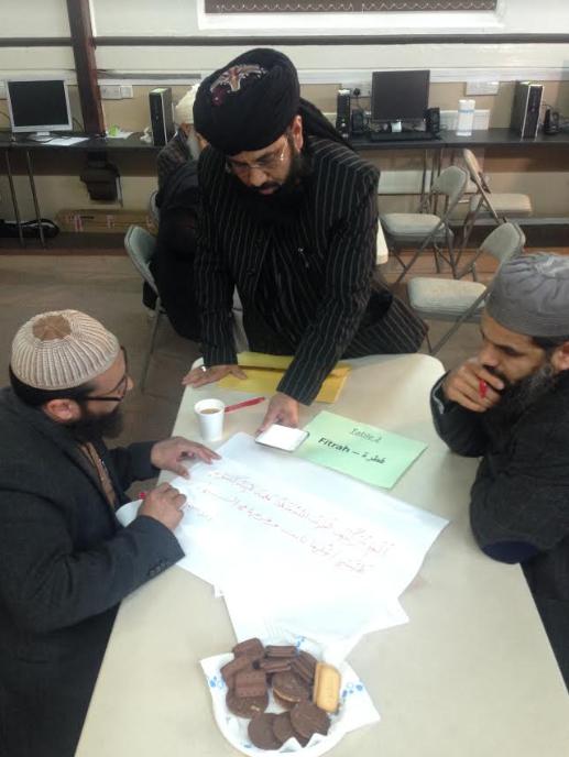 Imam training session – Photo: KS