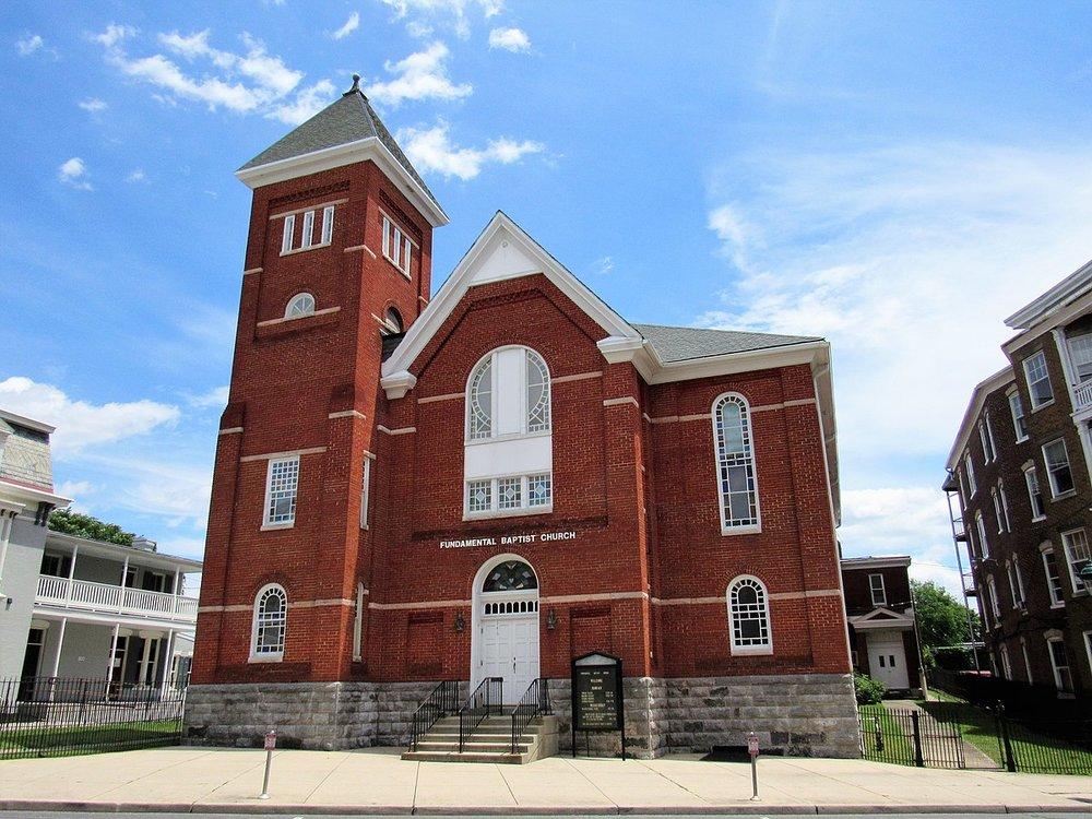 Fundamental Baptist Church in Maryland – Photo:    Wikimedia